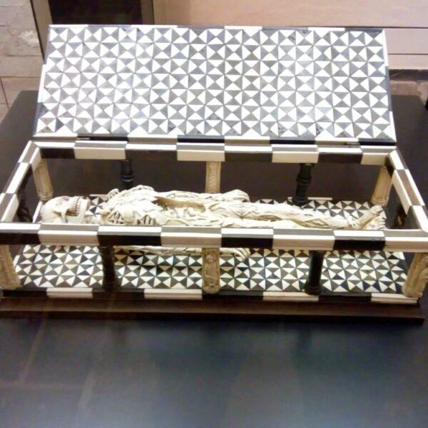 Jan Jaap Andre - skelet in museum